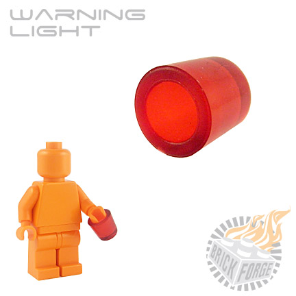 Warning Light - Trans Red