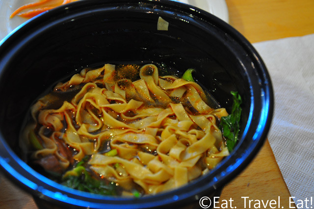 Easy Earthen, Rowland Heights, CA: Beef Noodle Soup Noodles (old version