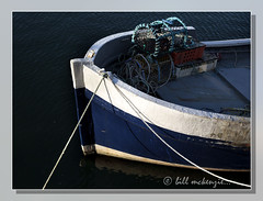 Blue Boat Detail (Bill McKenzie / bmphoto) Tags: blue abstract detail eos boat harbour best moray findochty 5dmkii