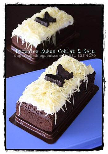 Brownies Coklat & Keju