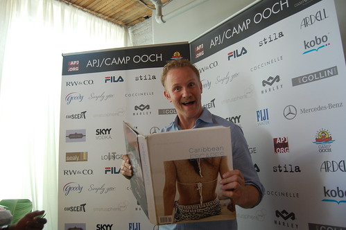 Morgan Spurlock reads up on Miami Escapes