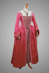Costume of Jane Seymour, played by Annabelle Wallis (Royal Armouries) Tags: costume leeds dresses bbc historical henryviii jonathanrhysmeyers jossstone tailoring corsets royalarmouries tudors