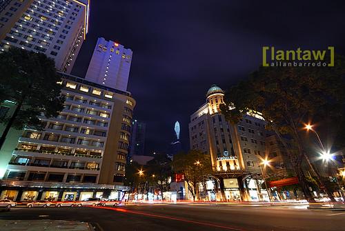 Saigon Urban Nightscape