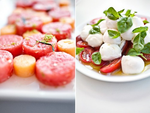 1 Notwithoutsalt-Watermelon, Caprese Cherry Tomato Mozz Basil Salad Idea