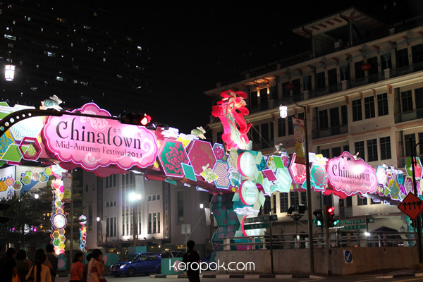 Mid Autumn Festival Chinatown Singapore