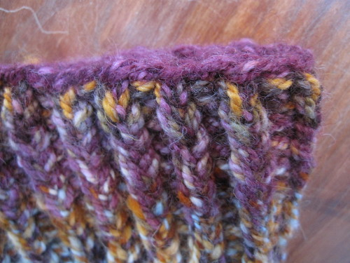 Sour Fig Cowl detail