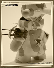 Russian Anti-Aircraft Dunny BW