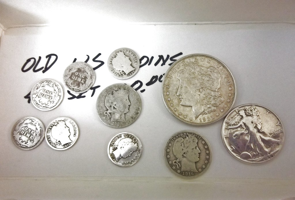 258/365 Old Silver Coins