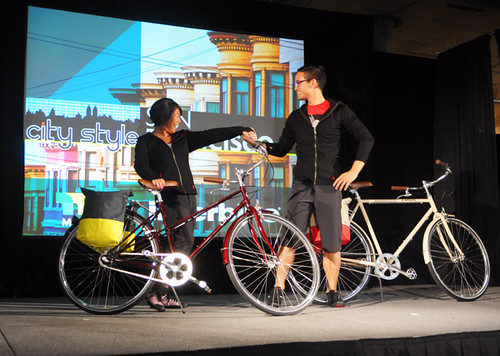 Interbike Fashion Show, Linus Bikes & Chrome Apparel