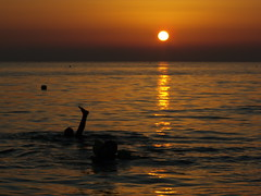 tramonti sul mare (angler70 (Luca Borrelli)) Tags: sunset sea sun beach nature landscape funny surf estate tuscany sup windsurf sailng sunsetsurf