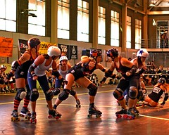 Dutchland vs Maine:  WFTDA East Region (armykat) Tags: rollerderby rollergirls tournament game1 baltimoremaryland wftda mainerollerderby dutchlandderbyrollers 09162011 wftdaeastregionplayoffs