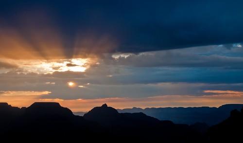 Gran Cañón, amanecer II