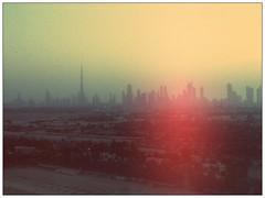 Landscape (misterbutler) Tags: vintage landscape dubai ipod desert united touch uae emirates khalifa arab burj
