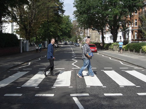 Words Fail Me at Abbey Road crossing