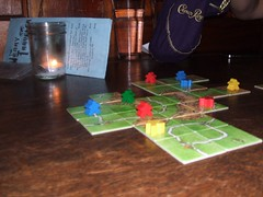 Carcassonne at Weary Traveler