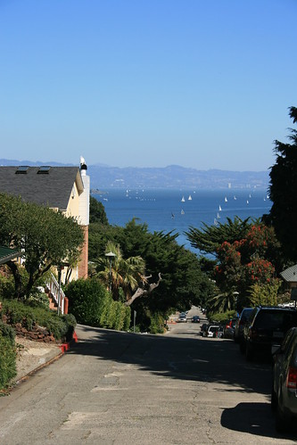 Sausalito View from Main St.