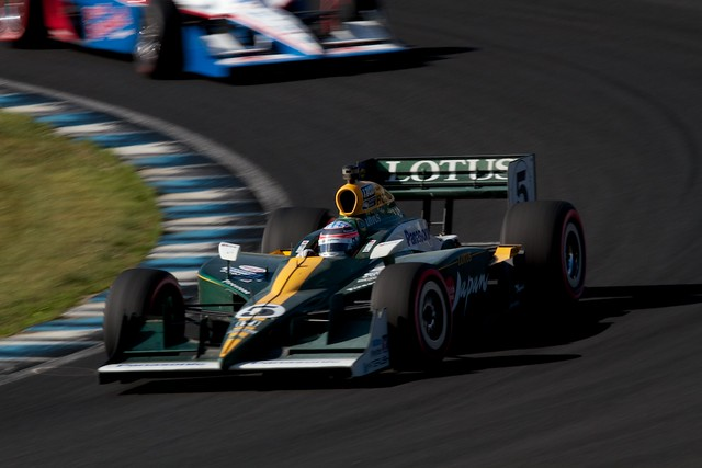 Takuma Sato - KVRacing Lotus