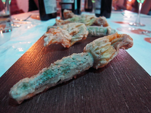 tempura squash blossoms