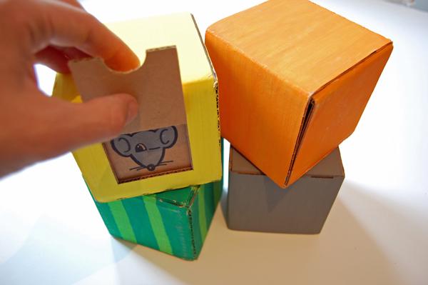 Кубики с изображениями своими руками