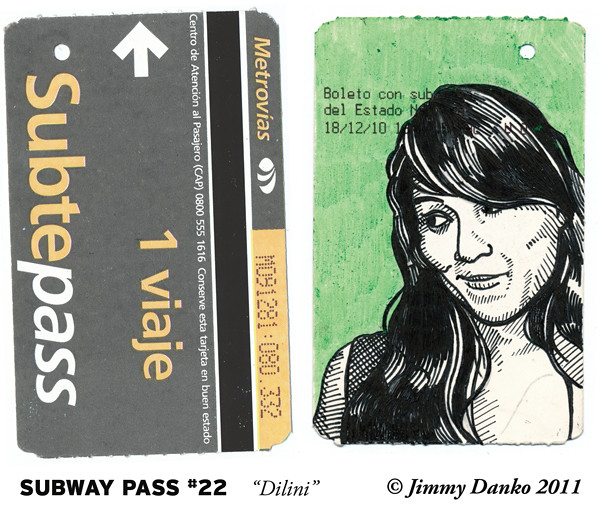 Subway Pass #22