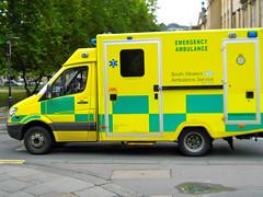 South West Ambulance Service Mercedes Sprinter Ambulance Bath