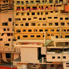 Cardboard city (fierce productions) Tags: city architecture diy model outsiderart cardboard build stefanhfner