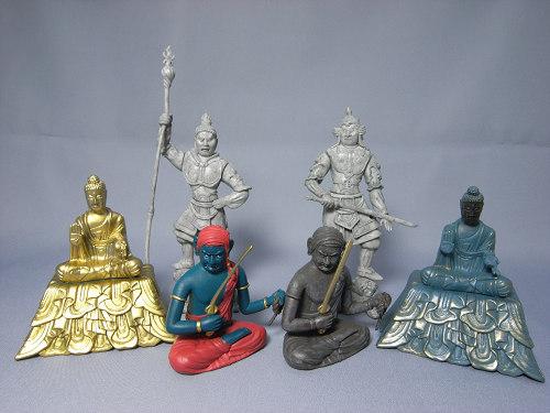 仏像ガチャ『和の心 仏像コレクション4』コンプリート