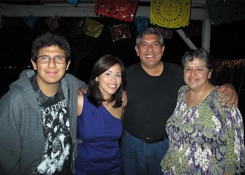 Stephen, tío Ivan & tía Paty