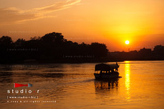 Journey of Life (RzzA) Tags: life city light sunset summer people black travelling yellow clouds river landscape photography see boat photo nikon darkness live bank journey ravi wait reza lahore lessons d90 rzza wwwstudiorbiz muhammedrzza