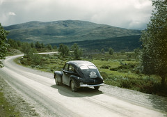 Dovre, Oppland, Norway (Swedish National Heritage Board) Tags: road car volvo automobile riksantikvarieämbetet theswedishnationalheritageboard
