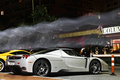 Spooky. *Explored* (Yannick van As Photography) Tags: france silver dubai italia swiss ferrari monaco switserland v12 ferrarienzo 458 yannickvanasphotography
