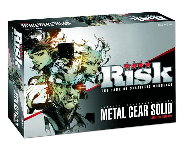 Risk: Metal Gear Solid - Packaging