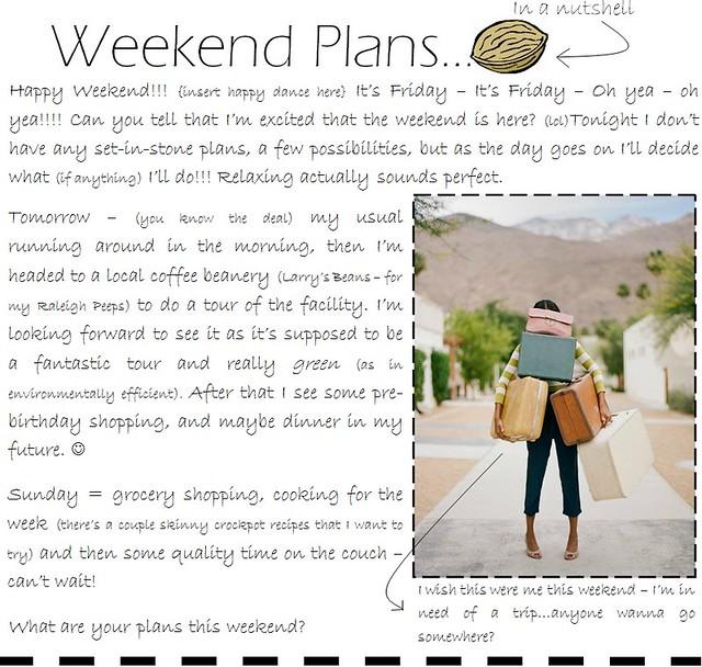 weekend plans 9.23