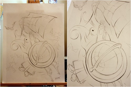 G drawing