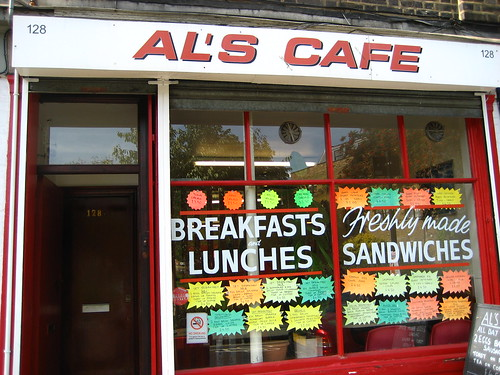 Al's Cafe, in Bermondsey Street