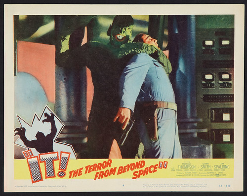 IT! THE TERROR FROM BEYOND SPACE (1958) lobby card 2