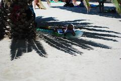resting (crazy.morgana) Tags: beach 50mm spain sand nikon holidays september f18 wakacje majorka 2011 plaża hiszpania piasek mallorka d80 crazymorgana