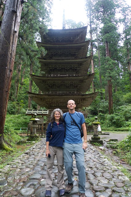 Fice-storied pagoda