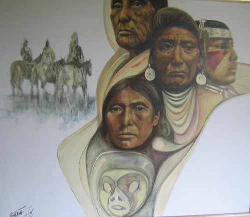 Chief Joseph - Painting - Realism