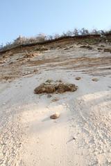 Glacial Outwash and Slumping in Coastal Bluff (sandy richard) Tags: geology wildwood wildwoodstatepark newyorkstateparks longislandbeaches sandyrichard longislandgeology sandrarichard wildwoodstateparkgeology
