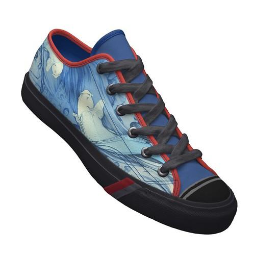 Zapatillas Pez azul japonés