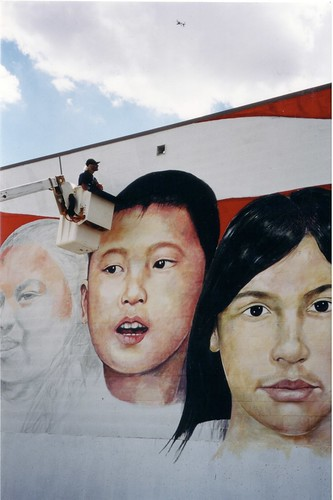 United by Our Children, Ely, Nevada Mural
