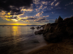 HDR - Sand Harbor Lake Tahoe (JarrodLopiccolo) Tags: lake harbor sand tahoe