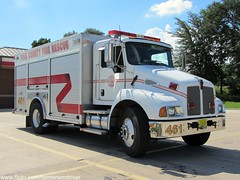 Polk County Fire Rescue - Air 461 (FormerWMDriver) Tags: county rescue truck fire florida cab air engine vehicle fl emergency conventional services polk t300 kenworth 461