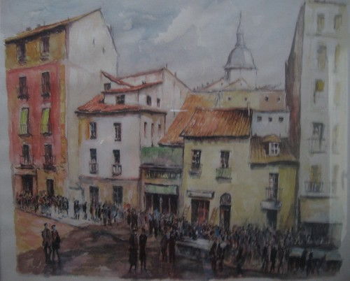 Vieux Ville - Painting - Impressionistic