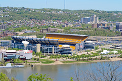 Heinz Field (TheSpaceWalker) Tags: blue ohio game building tree water river photography photo football nikon pittsburgh unitedstates pennsylvania stadium nfl pic hills pa panthers ncaa venue steelers heinzfield d3100 thespacewalker carnegysciencecenter