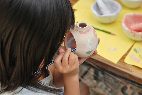 paint a pottery