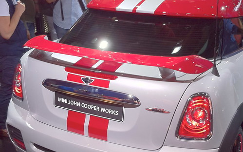 JCW Coupé Rear Spoiler @ IAA 2011