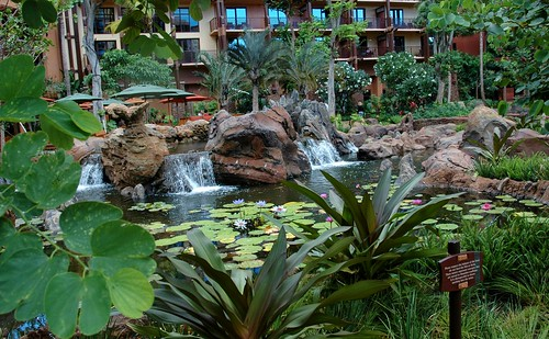 Gardens and Ponds at Aulani