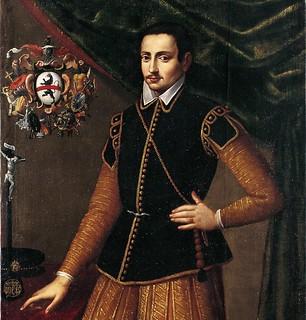 Ritratto di Donato Ferrario: particolare